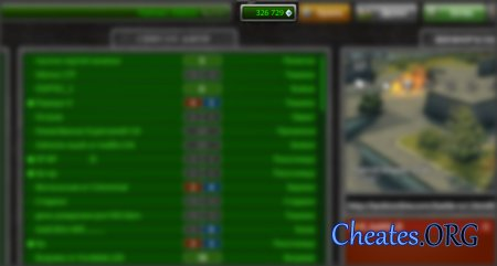 Чит на кристаллы для игры танки онлайн