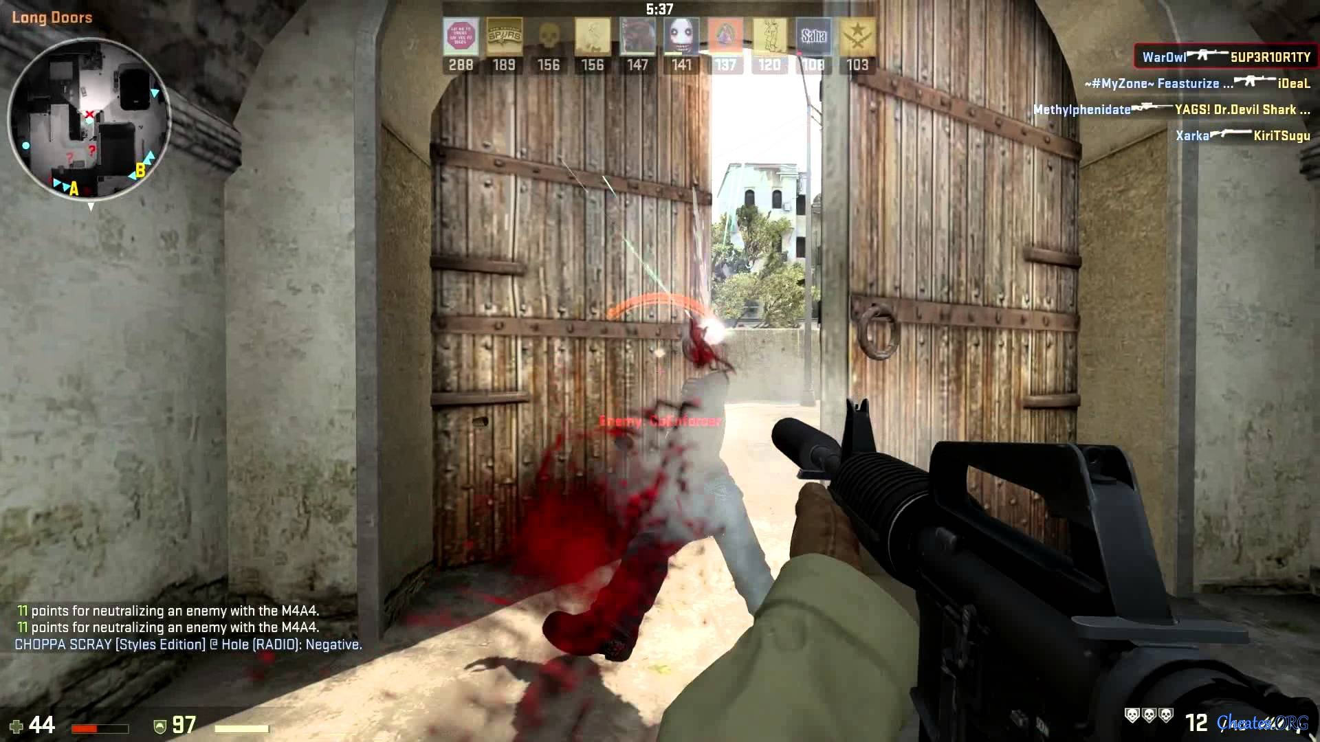 how to change colour of crosshair in cs go