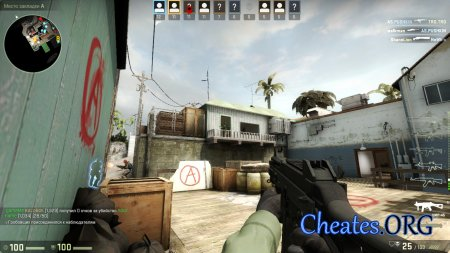 "Чит ""NoFlash"" для CounterStrike: Global Offensive (CS:GO)"