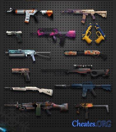 Чит на разблокировку оружия для CounterStrike: Global Offensive (CS:GO)